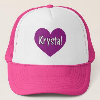 Krystal Trucker Hat