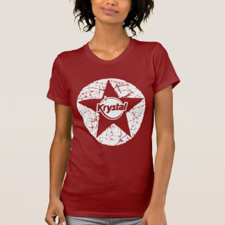 KrystalChoice - estrella de Krystal Playera