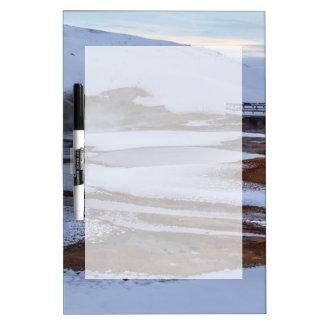 Krysuvic-Seltun Hot Spring Landscape Iceland Dry-Erase Board
