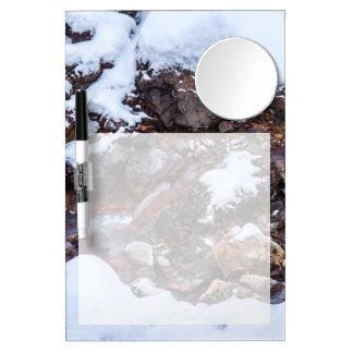 Krysuvic-Seltun Stream Iceland Dry Erase Board With Mirror