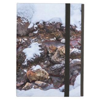 Krysuvic-Seltun Stream Iceland iPad Air Cover
