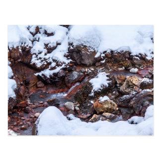 Krysuvic-Seltun Stream Iceland Postcard