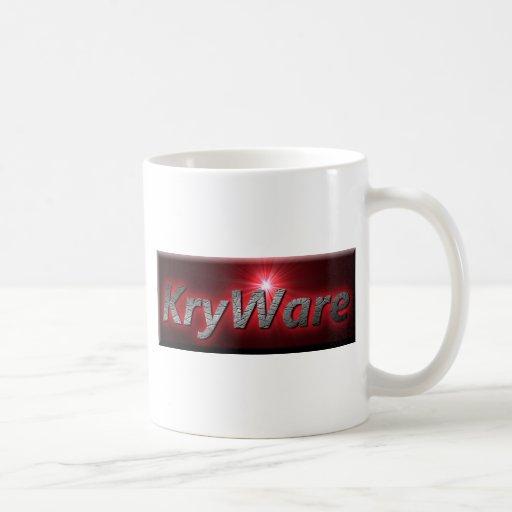 KryWare non-virtual products. Mug