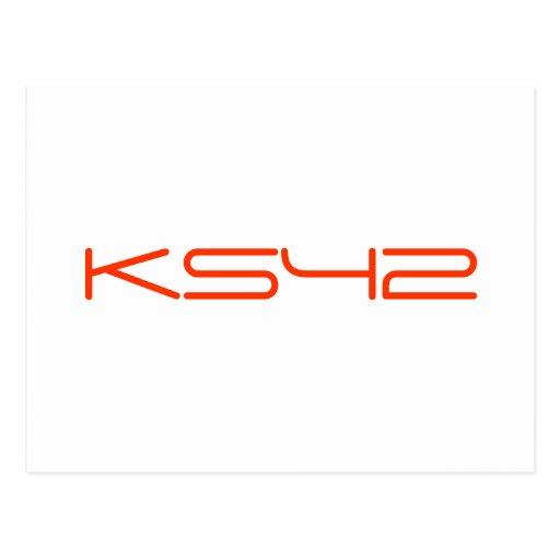 KS42 TARJETAS POSTALES