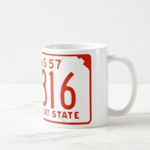 KS57 CLASSIC WHITE COFFEE MUG