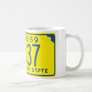 KS59 CLASSIC WHITE COFFEE MUG