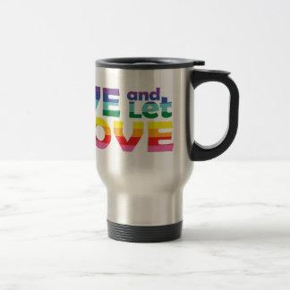 KS Live Let Love Travel Mug
