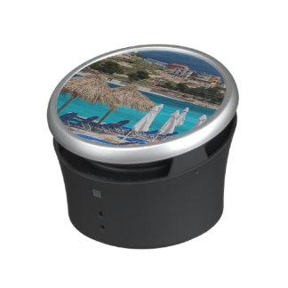 Ksamil, town beachfront bluetooth speaker