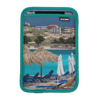 Ksamil, town beachfront iPad mini sleeve