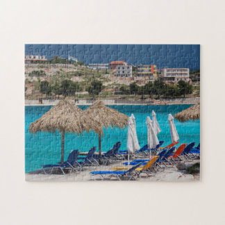 Ksamil, town beachfront jigsaw puzzle