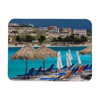 Ksamil, town beachfront magnet