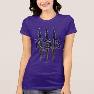 KSB Blue Grunge Logo