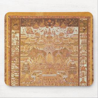 Kshitigarbha, juez del infierno, de Dunhuang Mousepads
