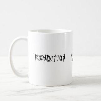 KSM Hunt Classic White Coffee Mug