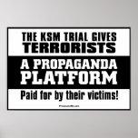 KSM Trial: A Propaganda Platform Poster