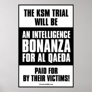 KSM Trial: An Intelligence Bonanza Poster
