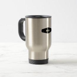 KTD Stainless Steel 15 oz Travel/Commuter Mug