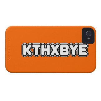 KTHXBYE case Case-Mate iPhone 4 Cases