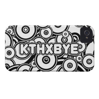 KTHXBYE case Case-Mate iPhone 4 Case