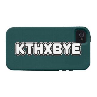 KTHXBYE case iPhone 4/4S Case