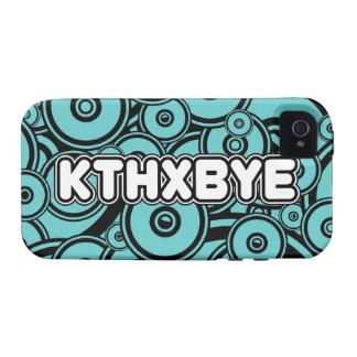 KTHXBYE case Vibe iPhone 4 Case