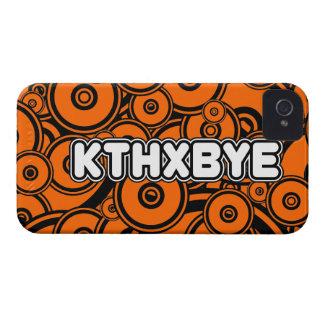 KTHXBYE case iPhone 4 Case