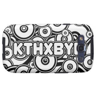KTHXBYE case Samsung Galaxy S3 Covers