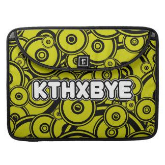 KTHXBYE case Sleeves For MacBook Pro