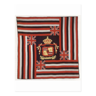 Kuʻu Hae Aloha (My Beloved Flag), Hawaiian cotton Postcard