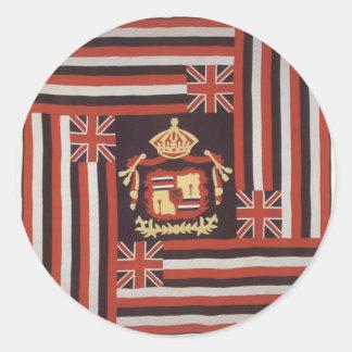 Kuʻu Hae Aloha (My Beloved Flag), Hawaiian cotton Sticker
