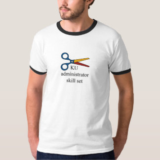 KU Admin Skill Set Ringer T T Shirt