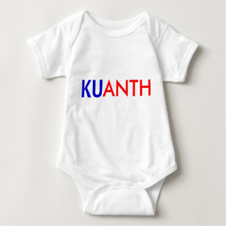 KU ANTH: Baby Style Baby Bodysuit