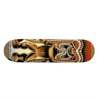 Ku, Hawaiian Tiki God Skateboard