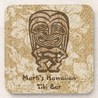 Ku-Tiki Hawaiian Tiki Bar Cork-backed Coasters
