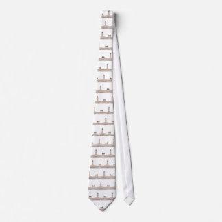 Kuala Lumpur Clocktower Corbatas Personalizadas