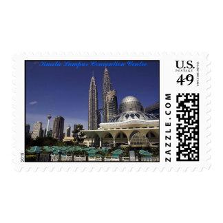 Kuala Lumpur Convention Centre Postage Stamp