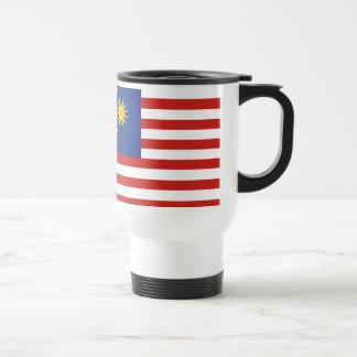 kuala lumpur flag travel mug