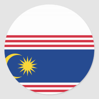 Kuala Lumpur Malaysia, Malaysia Classic Round Sticker