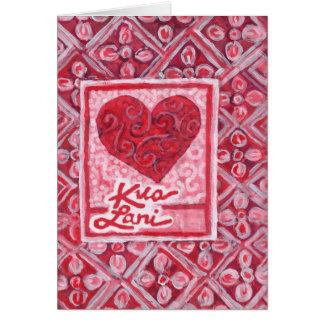 KuaLani Heart Card