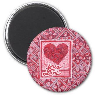 KuaLani Heart Magnets