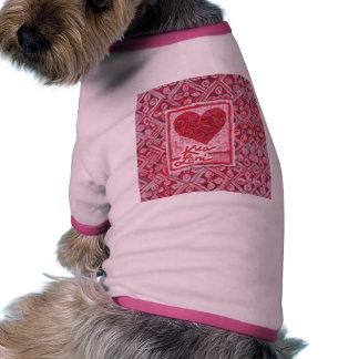 KuaLani Heart Pet T Shirt