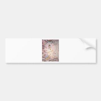 Kuan Yin; Buddhist Goddess Of Compassion Bumper Sticker