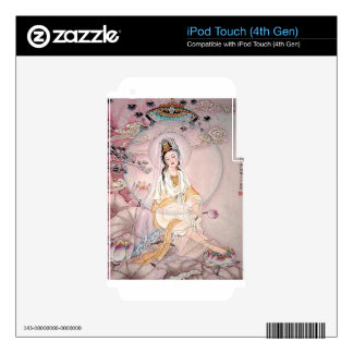 Kuan Yin; Buddhist Goddess Of Compassion iPod Touch 4G Decal