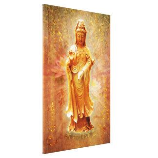 Kuan Yin Stretched Canvas Prints