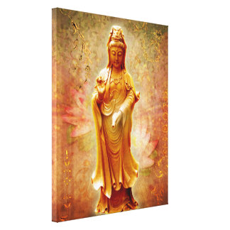 Kuan Yin Gallery Wrapped Canvas