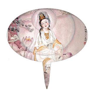 Kuan Yin; Diosa budista de la compasión Decoraciones Para Tartas