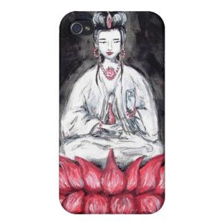 Kuan Yin - diosa de la caja de la mota del ~ iPhon iPhone 4/4S Fundas