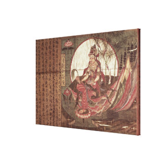 Kuan-yin, Goddess of Compassion Stretched Canvas Prints