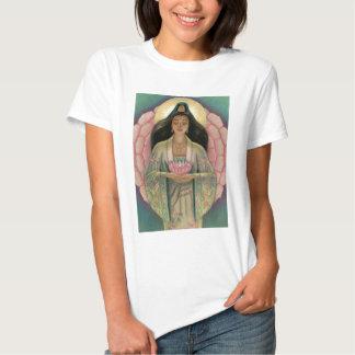 Kuan Yin Goddess of Compassion Tee Shirts