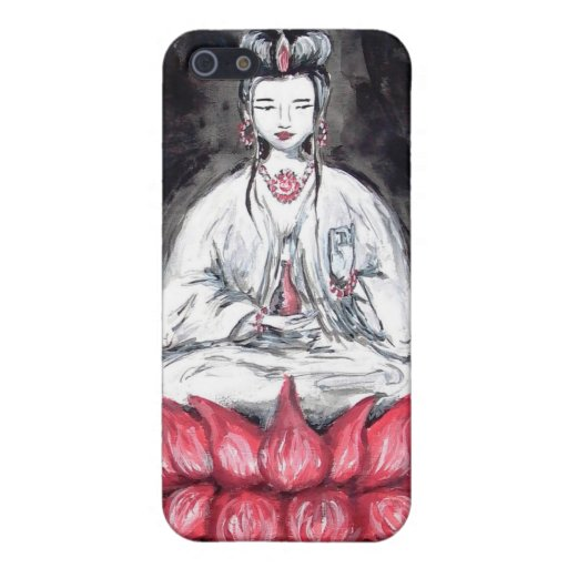 Kuan Yin - Goddess of Love ~ iPhone/ Speck Case Cover For iPhone 5